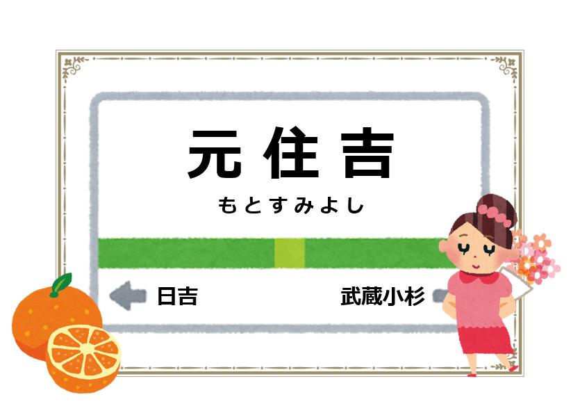 元住吉駅周辺の花屋を紹介する記事のアイキャッチ画像